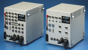 The ATS Cortex 812 (left) and Cortex 204 are all-in-one vision devices, developed in-house by system integrators at ATS Automation.