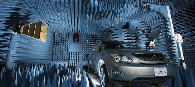 The University of Waterloo's CIARS lab houses one of the world's most sensitive anechoic chambers, capable of measuring a broad spectrum of near-field and far-field radio wave frequencies and transmission types.