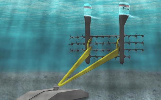 Black Rock Tidal Power's TRITON Platform