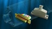 3D printed connector backshell flew in a Trident II D5 fleet ballistic missile test flight  Photo: Lockheed Martin.