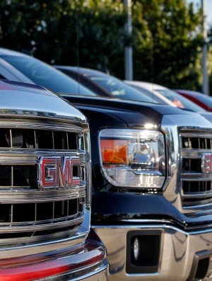 GM lineup trucks