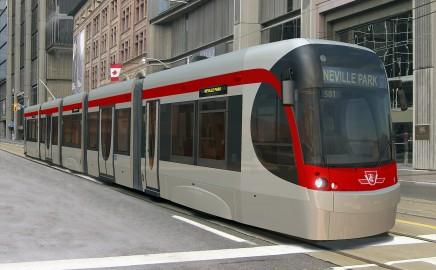 TTC Streetcar Bombardier