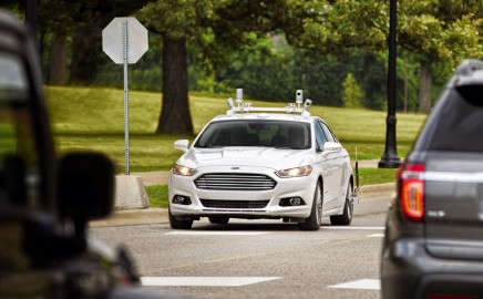 Ford Fusion Autonomous Vehicle