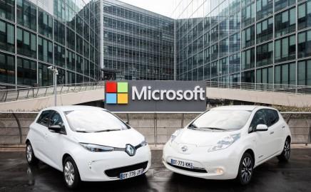 Renault Nissan Microsoft partnership