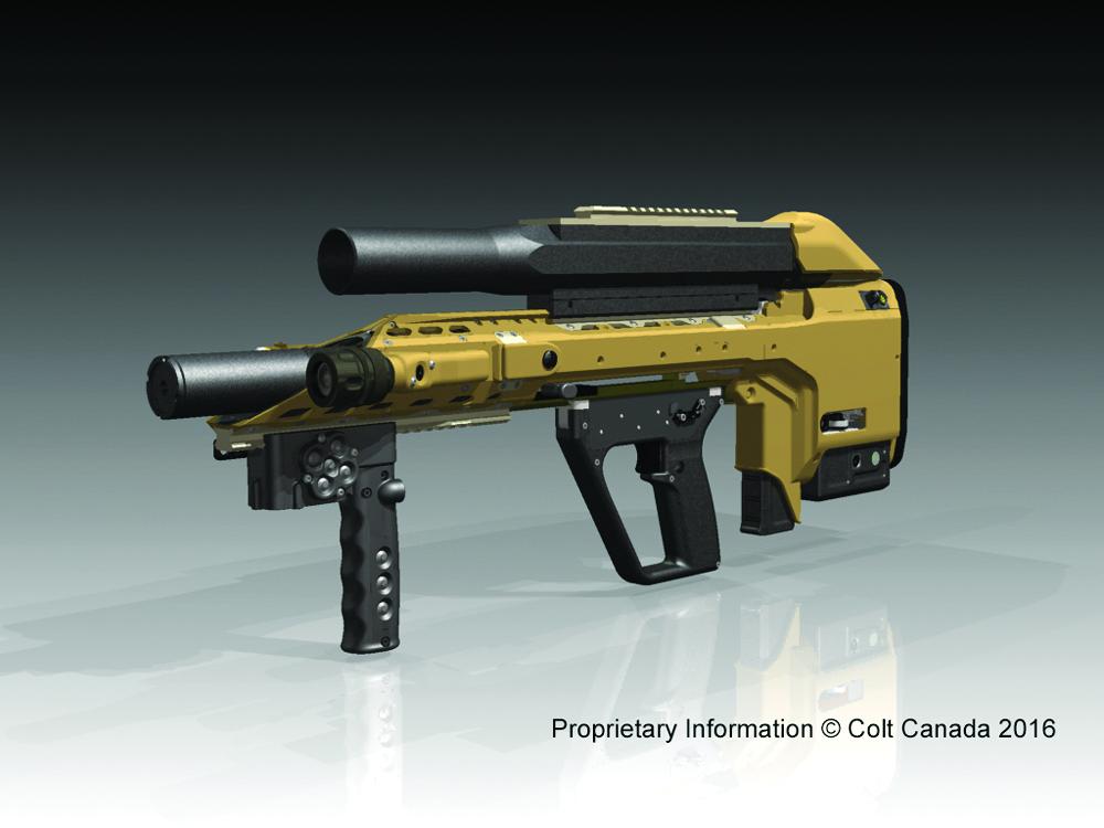 SIPES gun prototype