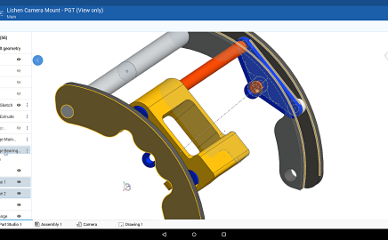 Onshape Android CAD