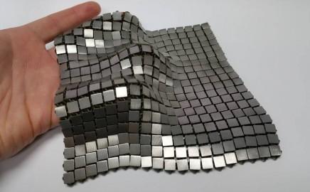 metal 3d printed space fabric