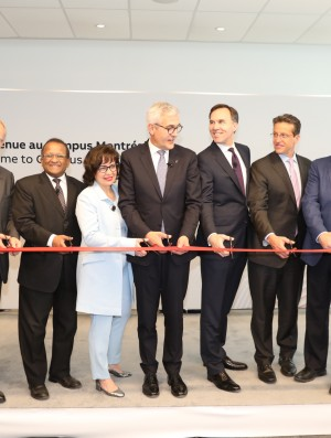 ABB Montreal headquarter inauguration