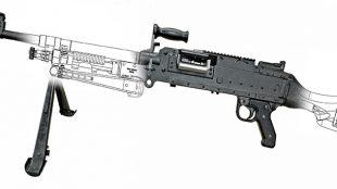 C6A1 machine gun prototype Colt Canada