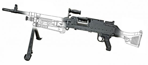 C6A1 machine guns prototype Colt Canada