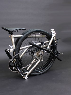 Helix folded bike titanium