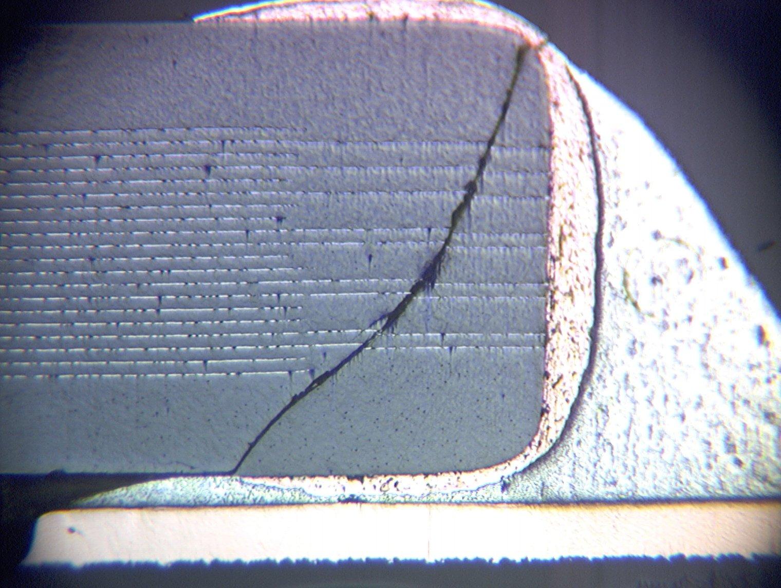 Ceramic capacitor cracking