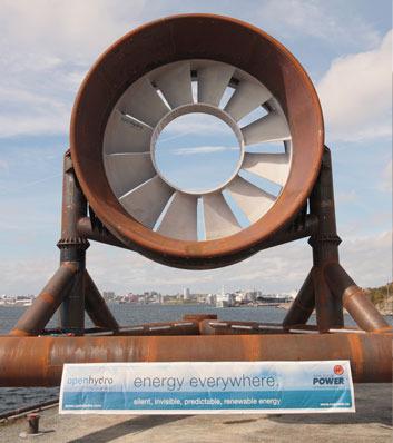 OpenHydro's Open-Centre Turbine