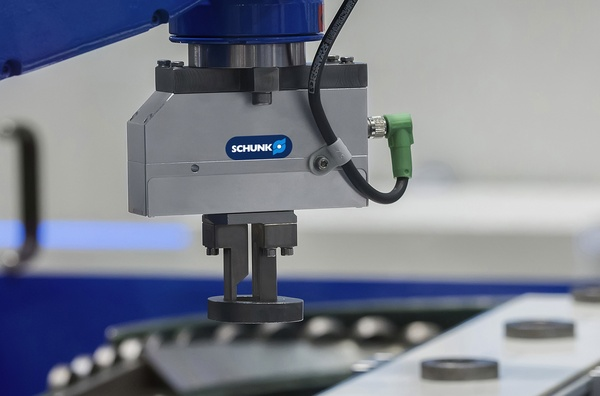 Intelligent gripper for the smart factory, SCHUNK WSG 25