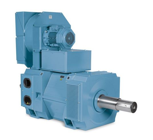 Baldor•Reliance® RPM PD, a DC motor with a low profile and power dense design that offers a flexible, cost effective, drop-in replaceme