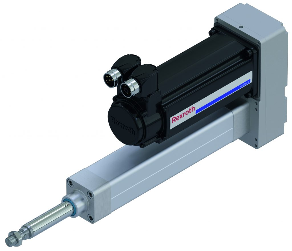 Electromechanical cylinder from Rexroth