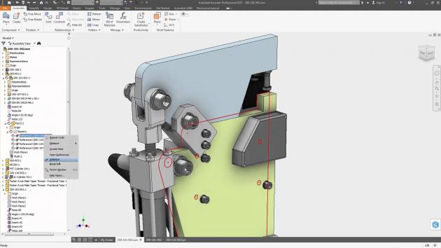 AutoCAD inventor Autodesk