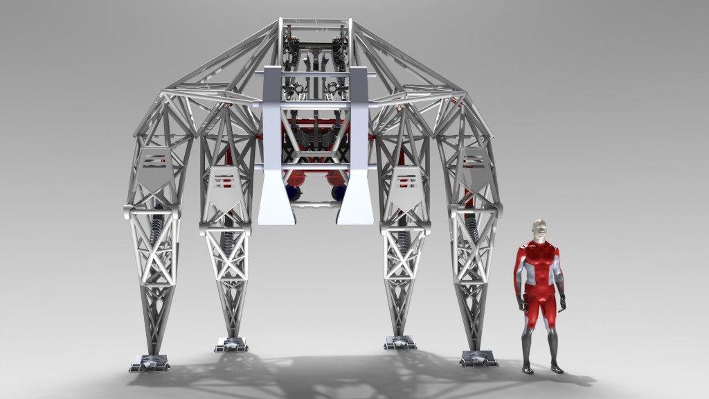 Jonathan Tippett Prosthesis anti-robot