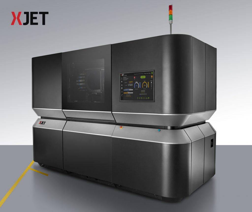 xjet additive 3d print machine