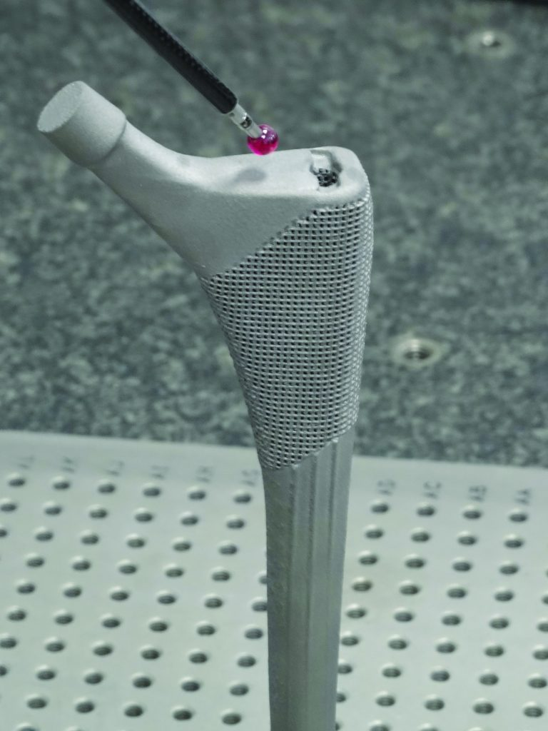 probing renishaw bone adhesion