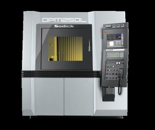 OPM250L hybrid additive manufacturing