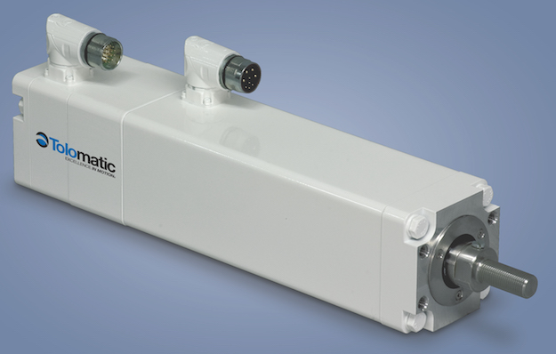 Food grade servo actuator design engineering for Servo motor linear actuator