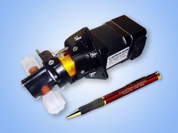 fluid metering valveless waster pump