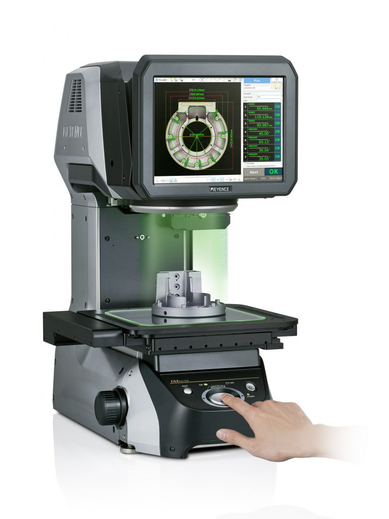 keyence instant measurement system